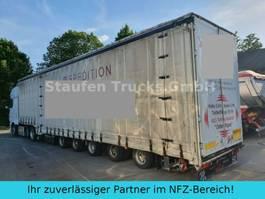 schuifzeil oplegger Dinkel DINKEL SPEZIAL-SANH 5 ACHS Schwerlast/ Masch.Tr 2007