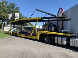 autotransporter oplegger KAESSBOHRER SP9-16L Transporter two deck top condition special price 2000