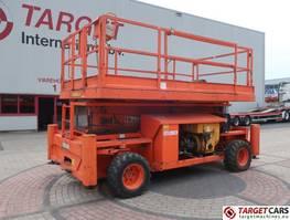 schaarhoogwerker wiel Holland lift Q-135DL24 Diesel 4x4 Scissor Work Lift 1550cm Jacklegs 2007