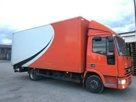 kipper bedrijfswagen Iveco 80 E koffer- Manual-Ladebordwand  von 2012 2002