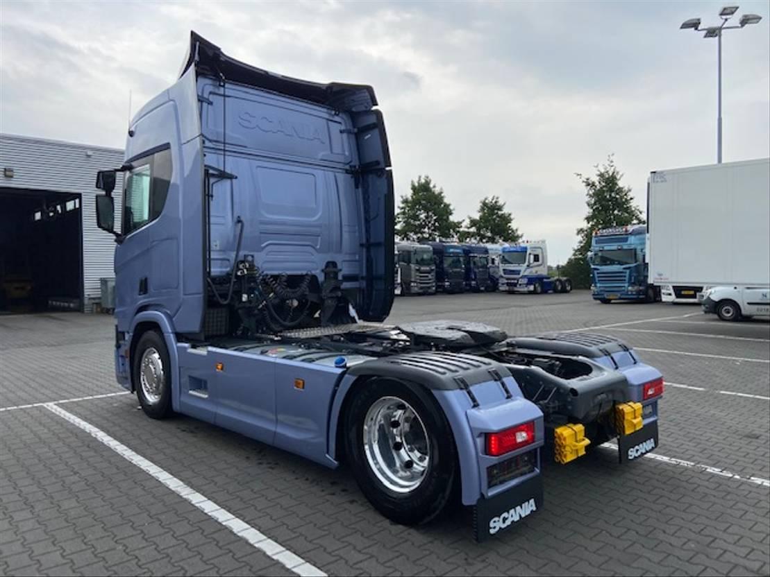 standaard trekker Scania R450 SPECIAL , ALCOA,LEER,METALLIC 2017