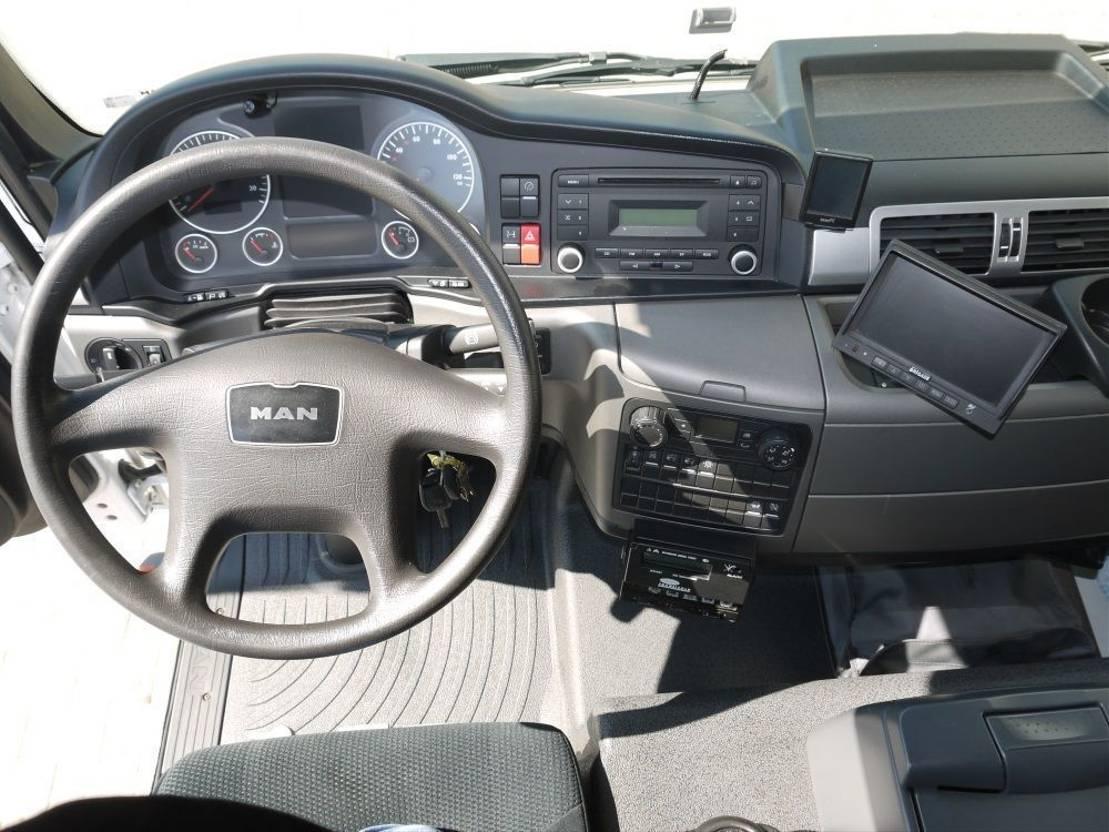 koelwagen vrachtwagen MAN TGL 12.180, Carrier Supra 1250 MT, LBW 1t, Blatt / Luft 2014