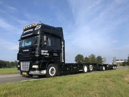 open laadbak vrachtwagen DAF XF460 SSC + AHW low km like new condition 2008