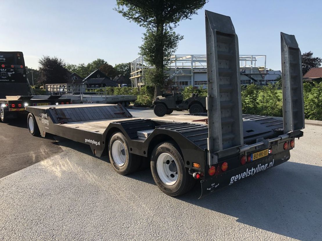 autotransporter vrachtwagen DAF XF460 SSC + AHW low km like new condition 2008