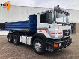kipper vrachtwagen > 7.5 t MAN 26.372 6X4 TIPPER 1991