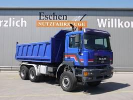 kipper vrachtwagen > 7.5 t MAN 27.414 DFAK 6x6, Meiller Kipper, Blatt, Klima 2002