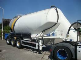 silo oplegger Feldbinder silo 3 axel with dust filter 2011