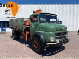 kipper vrachtwagen > 7.5 t Mercedes-Benz 1513 (10 bold) 4x2 Tipper with Hiab 55 crane 1970