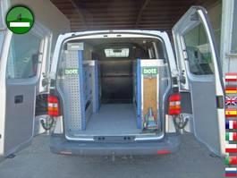 gesloten bestelwagen Volkswagen T5 Transporter 2.5 TDI 4Motion Werkstatteinbau K 2008