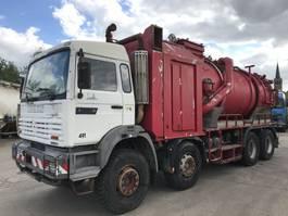 kolkenzuiger vrachtwagen Renault G340TI 8X4 **32TONS-HYDROCUREUR-VACUUM TRUCK** 1995