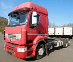 chassis cabine vrachtwagen Renault Premium 460.26 DXI 6x2 EEV VEB Lift-/Lenkachse 2011