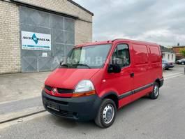 gesloten bestelwagen Renault Master 100 dCi Kurz / Flach 1.Hand TOP Zustand