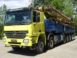 betonpomp vrachtwagen Mercedes-Benz ACTROS 4158 12x4 Betonpumpe PUTZMEISTER 58-5.16