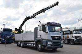 camion grue MAN TGS 26.480 6x2 Baustoff Atlas 135.2V