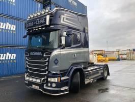 standaard trekker Scania R520 Topline 2xTanks / Leasing 2014