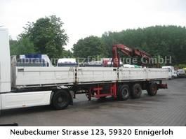 open laadbak oplegger Ackermann PS 24/12,5 E mit MKG 150