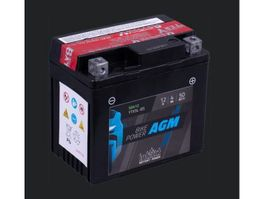 accu's motorfiets onderdeel Batterij 12V 4AH (c20) 50A (EN) 50412