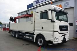 open laadbak vrachtwagen MAN TGX 26.480 EEV 6x4 Fassi F185BS22 10.9 m=1.47 t 2013