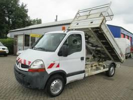 kipper bedrijfswagen Renault Master 2.5DCI Kipper Motor problem Netto €4450,=