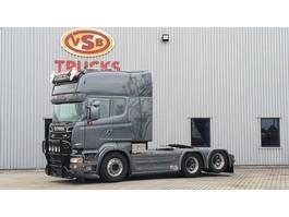 standaard trekker Scania R 560 Longline/ Boogie /PTO/ Special interior full air 6x2 2012