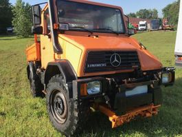 kipper vrachtwagen > 7.5 t Mercedes-Benz Unimog u110 3way tipper 1994