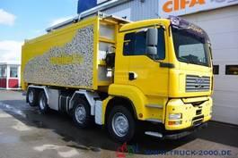 tankwagen vrachtwagen MAN TGA 35.430 8x4 30 m³ Spezial Pellets Kippaufbau 2006