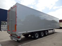 walking floor oplegger Knapen Trailers K100 - 92m3 Silver Metallic *NEW*