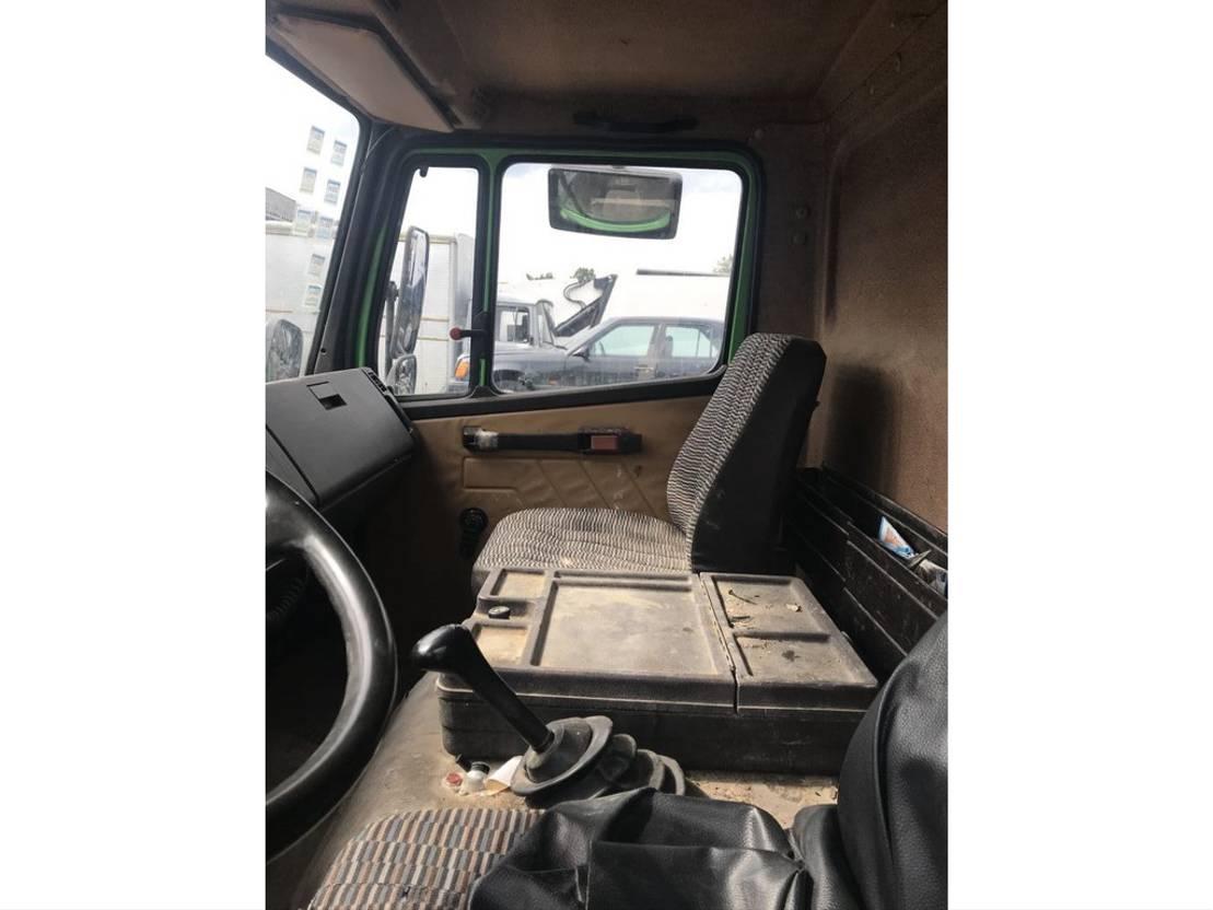 platform vrachtwagen Mercedes-Benz 814 **6CYL-BELGIAN TRUCK-FULL STEEL** 1990