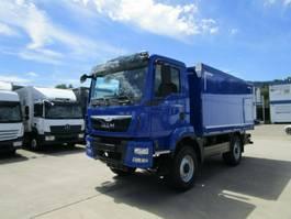 chassis cabine vrachtwagen MAN TGM 13.250 4x4 SINGLE Getränkek. 4,4m LASI 2700 2014