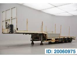 dieplader oplegger ASCA Low bed trailer 2003