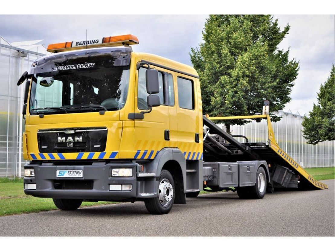 takelwagen-bergingswagen-vrachtwagen MAN TGL 10.220 4X2 BL Jigé 2011