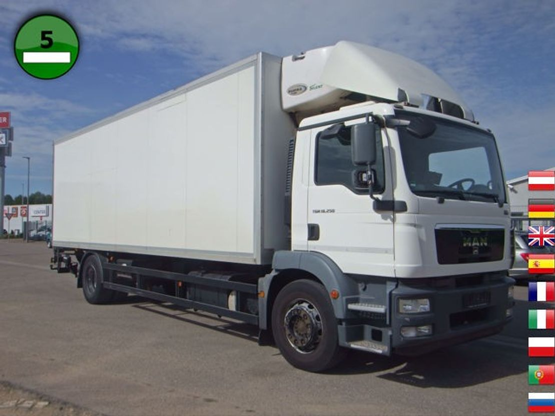 koelwagen vrachtwagen MAN TGM 18.250 4x2 LL CARRIER SUPRA 950 Mt KLIMA Tre 2011