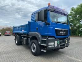 kipper vrachtwagen > 7.5 t MAN 18.440 TGS 3S Kipper 4x4H Hydro AHK E5 L-FH 2010