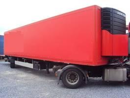 koel-vries oplegger Ackermann 1 achs City Kühl 11 m Lenk Carrier Diesel LBW 2 2009