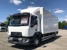 bakwagen vrachtwagen Renault D2.1 16.280 Trockenfrachtkoffer LBW ACC 2019