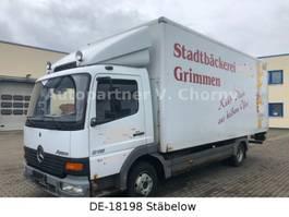 bakwagen bedrijfswagen < 7.5 t Mercedes-Benz Atego 815 Koffer mit LBW