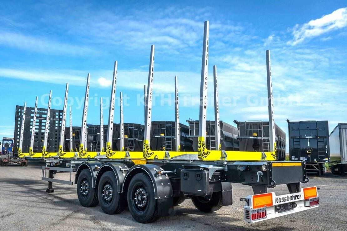 houtoplegger KAESSBOHRER Holztransporter / Timber Carrier SHF-H13