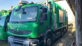 vuilkar camion Renault PREMIUM CNG Erdgas Müllwagen Garbage Truck Gas