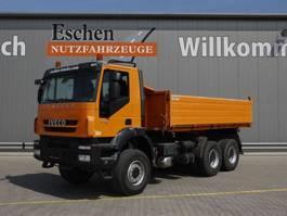 kipper vrachtwagen > 7.5 t Iveco AD 260 T 41 W, 6x6, Trakker, Euro 5, Automatik, AHK, 10 m³ Aluaufbau, AHK, Blatt 2010