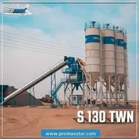 betonmixinstallatie PROMAX STATIONARY Concrete Batching Plant S130-TWN (130m³/h) 2020