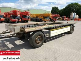 oprij aanhanger Schmitz Cargobull 2-achs Abrollanhänger / ACF 18 2012