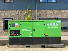 generator Volvo Mosa GE 225 VPM SX 220 kVA Supersilent Rental generatorset 2011