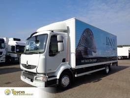 bakwagen vrachtwagen Renault Midlum 220 DXI + Manual + Dhollandia 2007