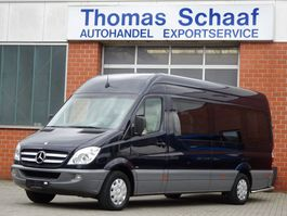 taxibus Mercedes Benz Sprinter 315 Cdi Maxi V.I.P. Reisebus 9 Personen Klima Leder Euro 4 2010