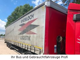 schuifzeil oplegger Kögel SN 24   Mega  Lowline Mercedes Achsen Jumbo 2013