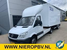 be trekker bedrijfswagen Mercedes-Benz 515cdi be combi inc trailer laadklep 2007
