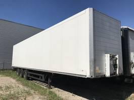 gesloten opbouw oplegger Schmitz Cargobull SKO 24 Box Trailer 2 x lift assen 2004