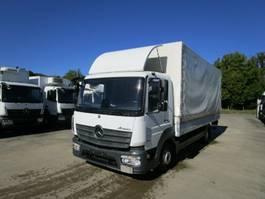 schuifzeil vrachtwagen Mercedes-Benz ATEGO IV 818 L Pritsche/Pl. 6,10 m KLIMA*LUFT HA 2016