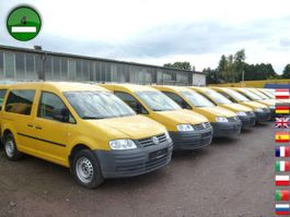 gesloten bestelwagen Volkswagen Caddy 2.0 SDI 2-Sitzer 2x Schiebentür 2007
