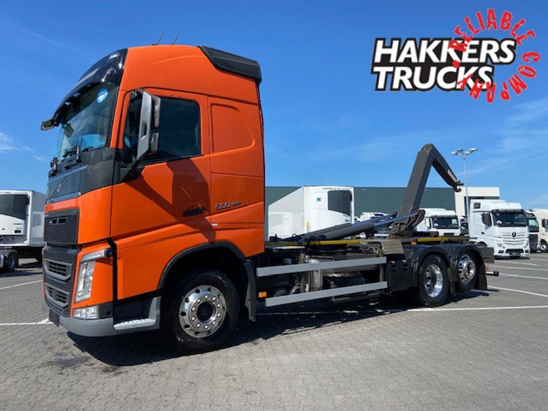 camion conteneur Volvo FH 500 6X2*4 VDL HOOKLIFT 2017